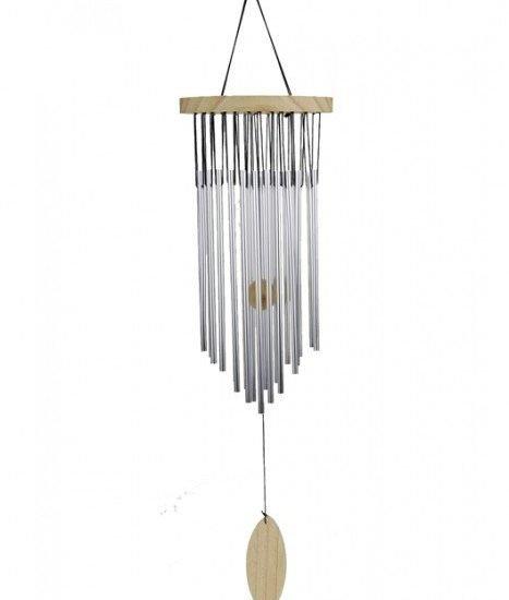 Windorgel meerdere staafjes en hout