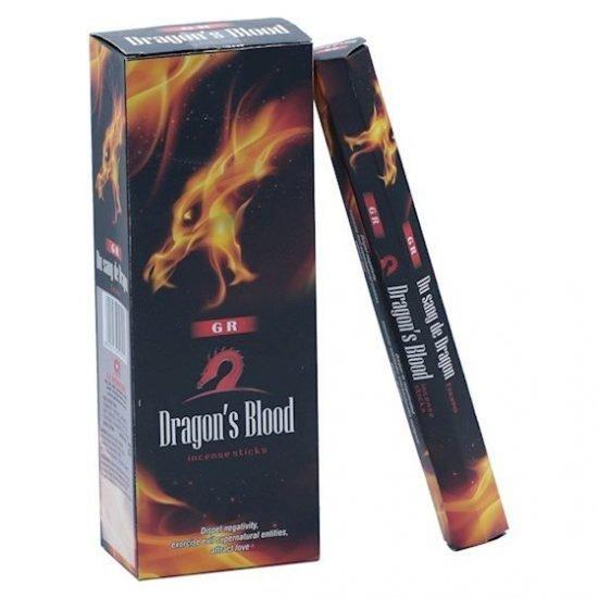 Wierook Dragon Blood (drakenbloed) hexagram pak