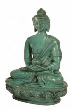 Boeddhabeeldje groen