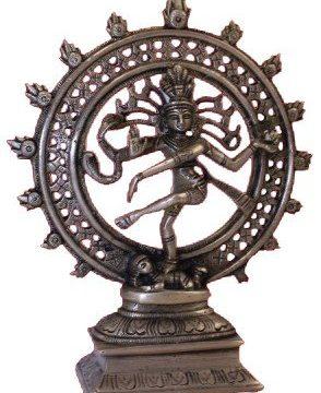 Shiva Nataraj messing 1 kleur