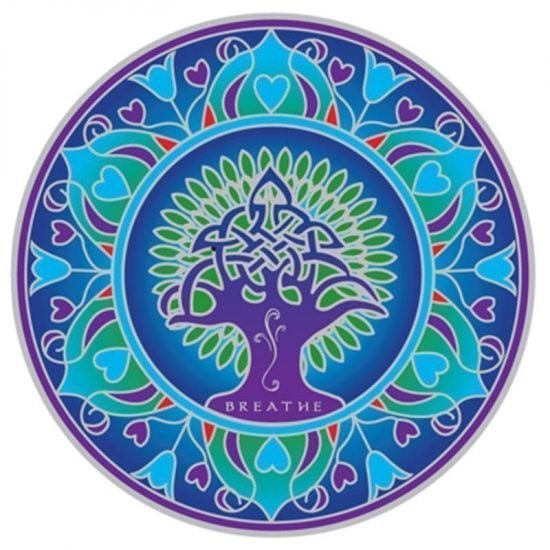 Raamsticker Aarde Mandala